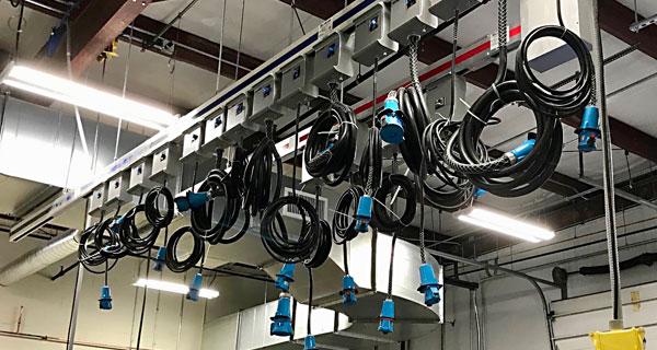 cord drops data center