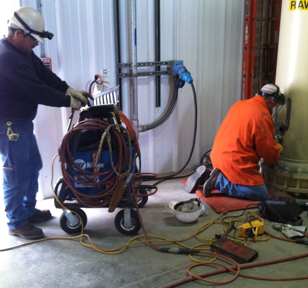 wall mounted welding machines