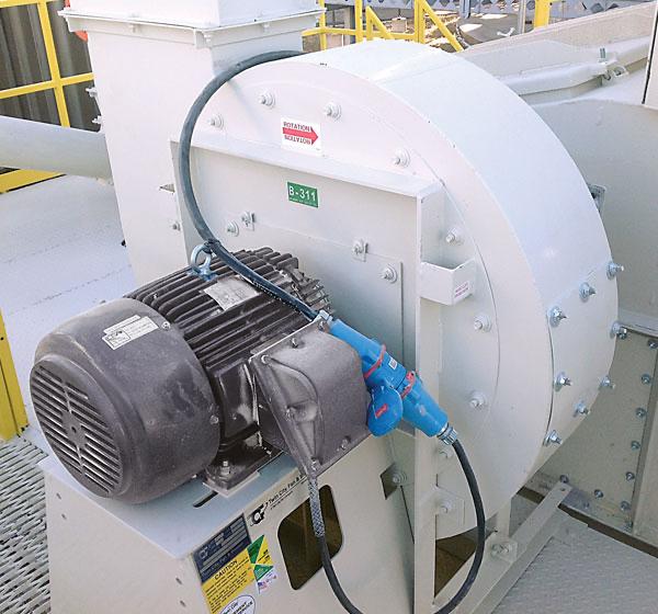Fan motor for power generation