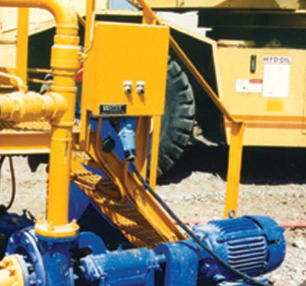 motor connections in mining
