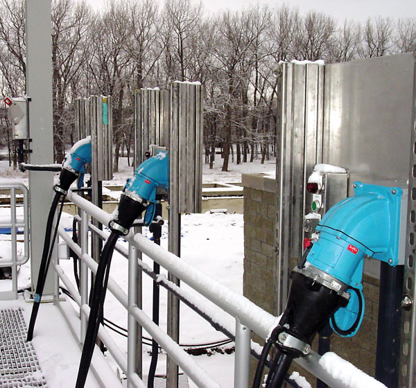 submersible pumps in harsh environment