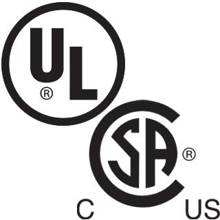 ul/csa listed
