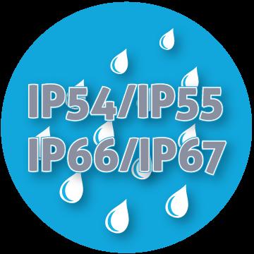 IP54/IP55 IP66/IP67