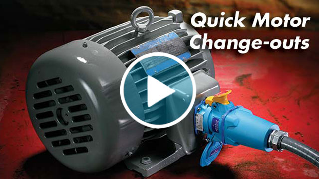 quick motor change-outs