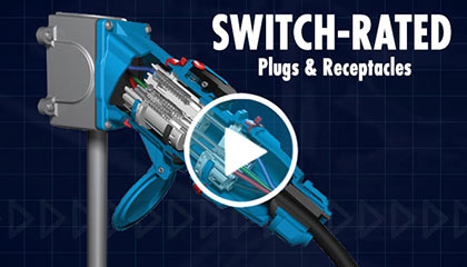 Switch-Rated plugs and receptacles