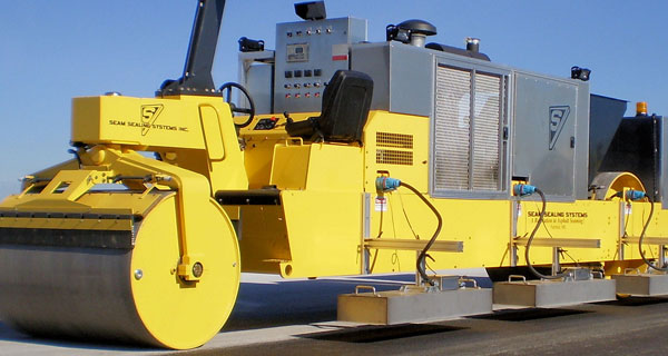Seam sealing machinery