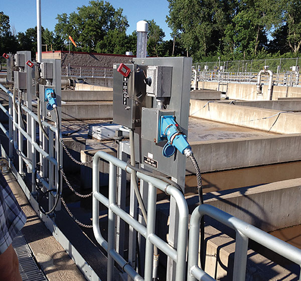 wastewater mixer