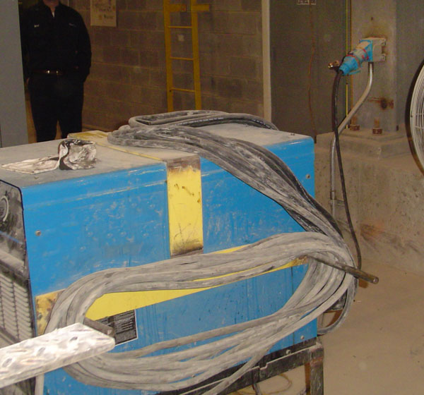 Steel Industry welders