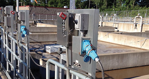 wastewater submersible pump